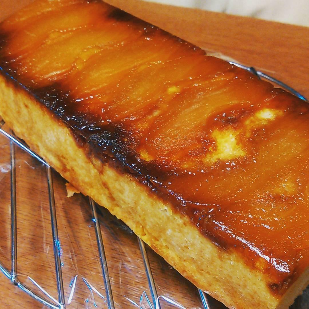 タルトタタン風パウンドケーキ