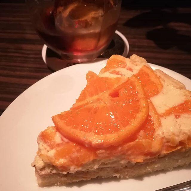 オレンジのタルト